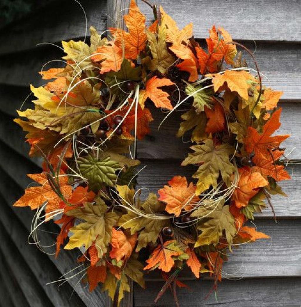 Idées déco feuilles d automne