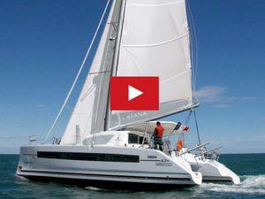 3.18 minutes de Bonheur à bord d'un catamaran Catana