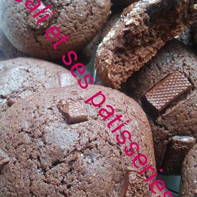 cookies tout choco & noix de coco
