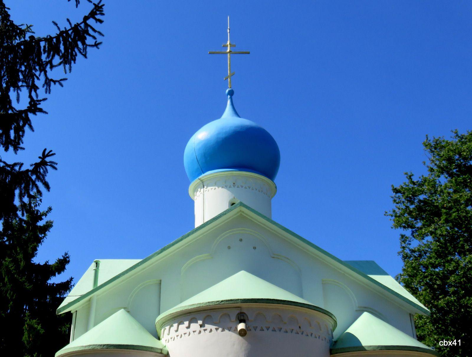Eglise N.D. de l'Assomption, Cimetière russe de Ste Geneviève-des-Bois