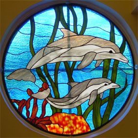 stained+glass+animal