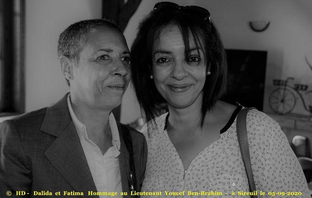 Photos et vidéos de l'Hommage au Lieutenant Youcef Ben-Brahim à Sireuil (24) du 05-09-2020