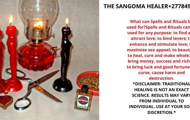BEST TRADITIONAL HEALER| SANGOMA Call+27784944478