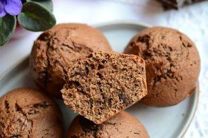 Muffins chocolat levain