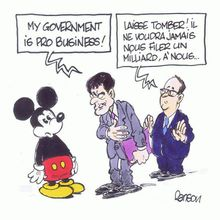 My governement is Pro Business.. (par Ranson)