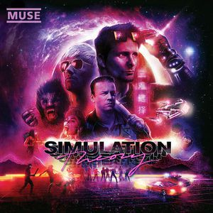 "Album de Muse ""Simulation Theory"" Warner 2018"