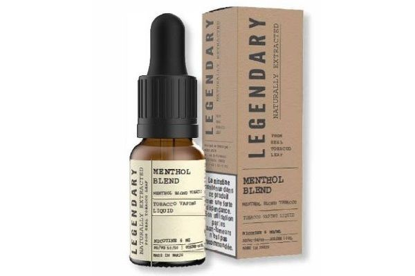 Test - Eliquide - Menthol Blend gamme Legendary de chez J Well