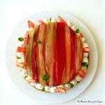 Fantastik à la rhubarbe et vanille de Michalak