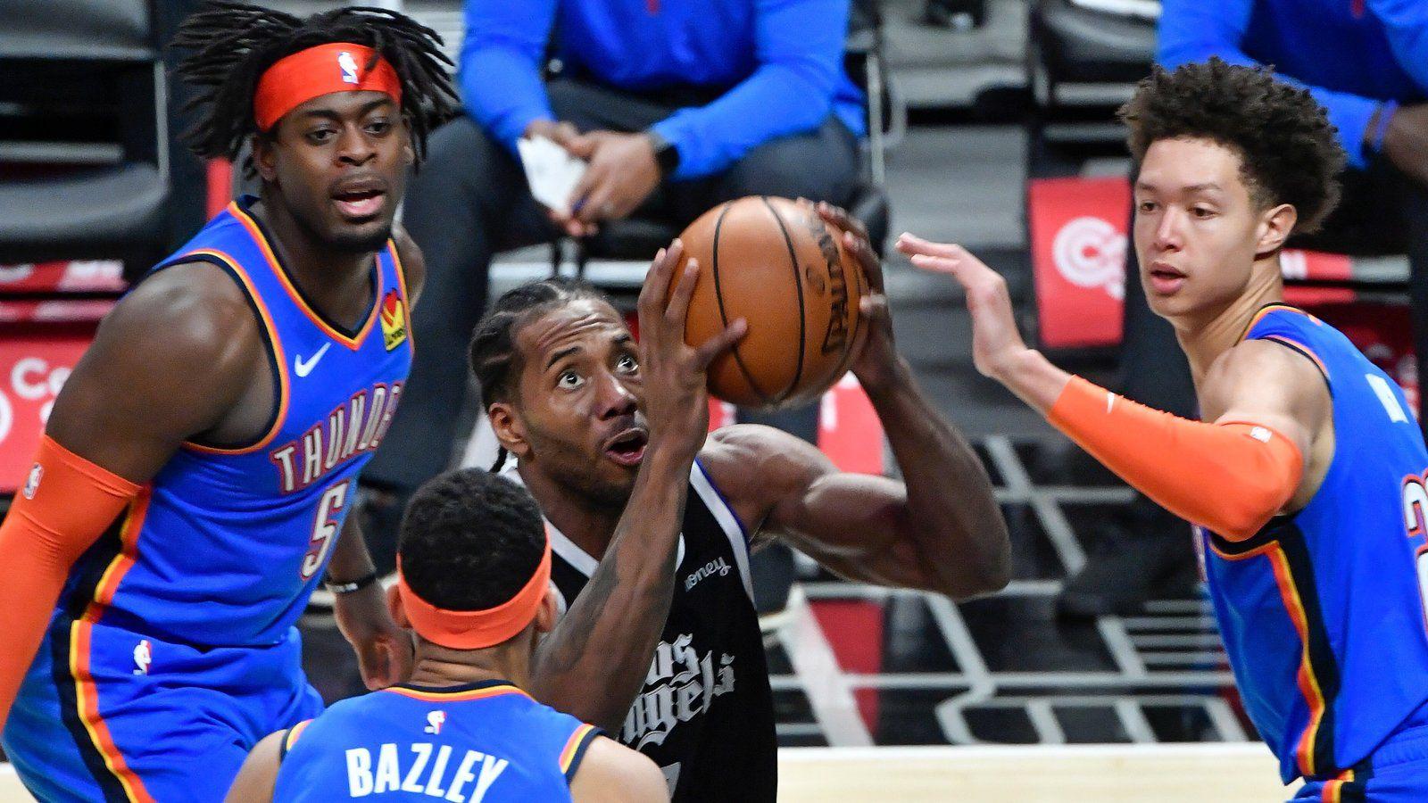 Kawhi Leonard mène les Clippers à une septième victoire d'affilée