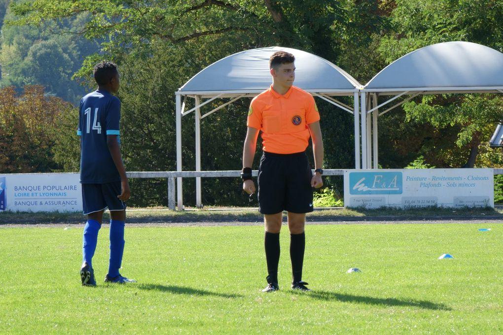 U15 : match amical contre Genas
