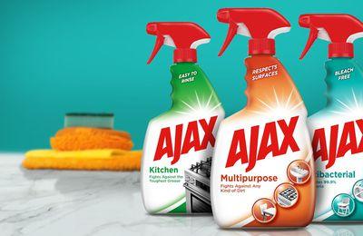 Packaging : nouvel emballage très design pour la marque AJAX