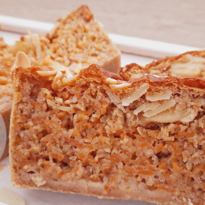 Le carrot cake faible en calories