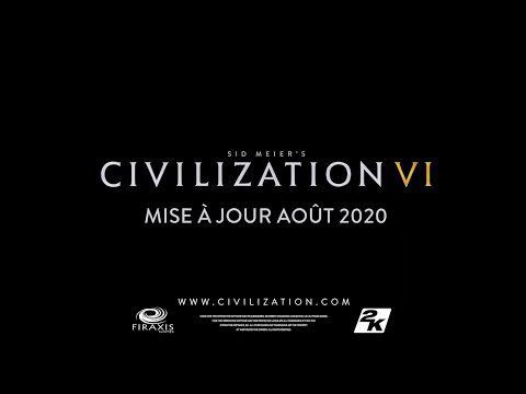 [ACTUALITE] Civilization VI - Annonce de la mise à jour Août 2020 en vidéo