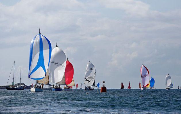 Tourduf 2012 - les 95 concurrents sont partis de Roscoff