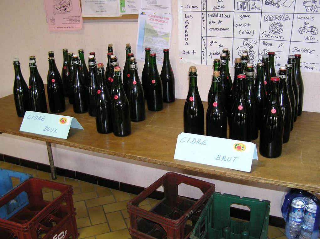 La dégustation du 13 juin 2009. à saint-Pierre-des-Nids.