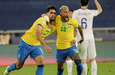 Le résumé et le but de Brésil - Chili (03/07/2021)