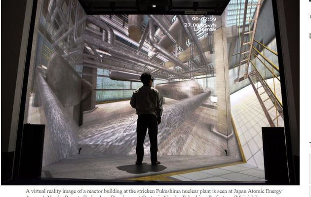 Virtual reality to train nuclear workers