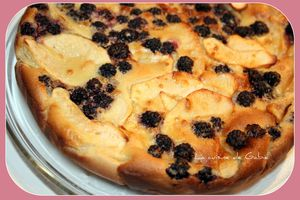 Clafoutis pomme-mures