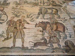 Quelques détails de cette fresque