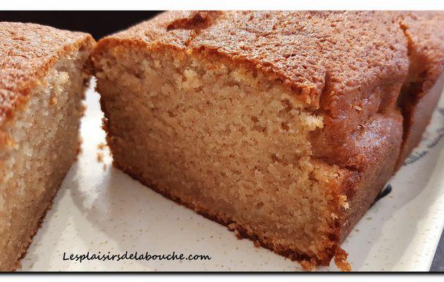 Gâteau pomme et cannelle.