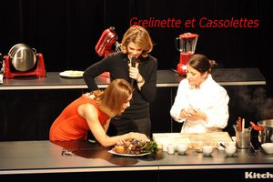 Paris des Chefs : duo Anne-Sophie Pic Carole Bouquet