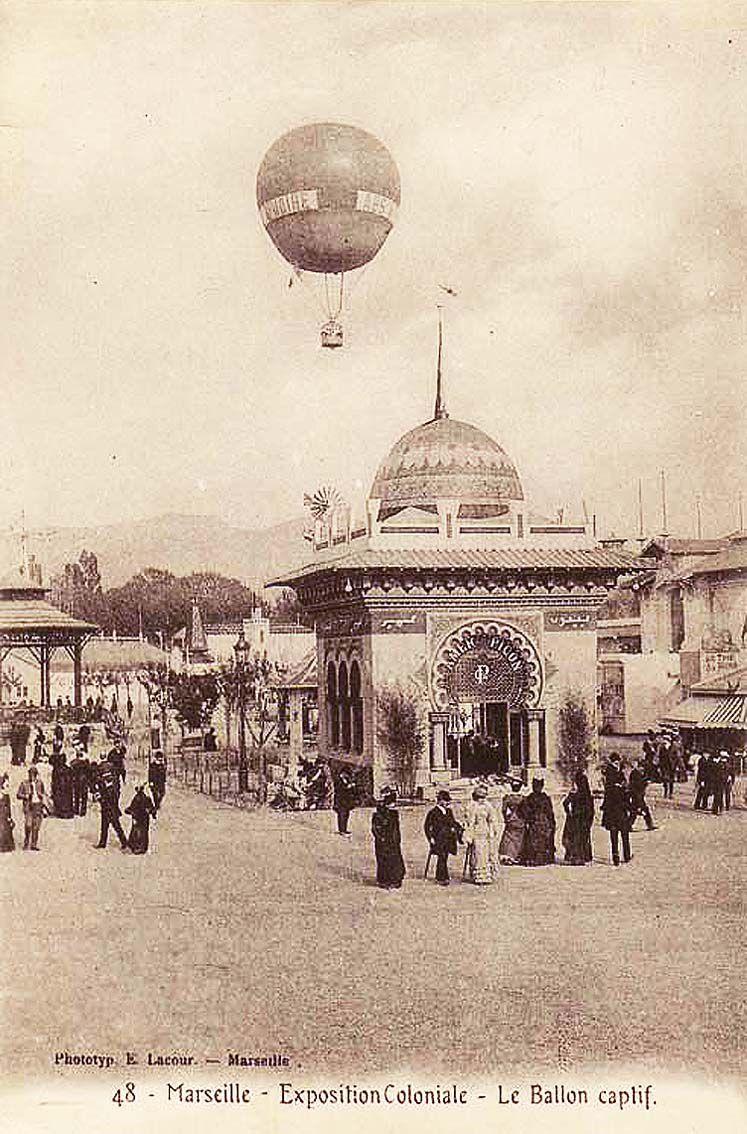 Pavillon de l'Amer Picon. Carte postale. Coll. privée.