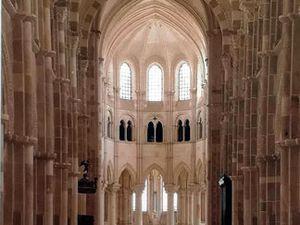 La Madeleine de Vezelay - Un sublime ordonnancement architectural...