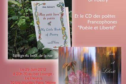 Soirée poétique et musicale le 29 juin au Fleurus
