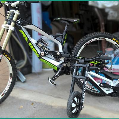 Les vélos de la famille