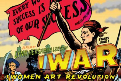 !WOMEN ART REVOLUTION projection le 15 Mars