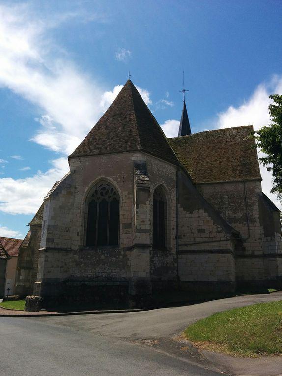 De Beaulieu à Cosne-sur-Loire, grande randonnée sur le GR3