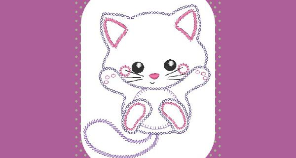 Broderie Chaton vintage