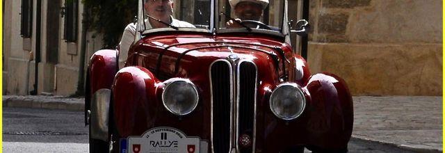 Rallye des Légendes, images à l'improviste, Uzès (Gard)