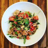 la panzanella, merveille de salade anti-gaspi - La petite cuisine de Nat