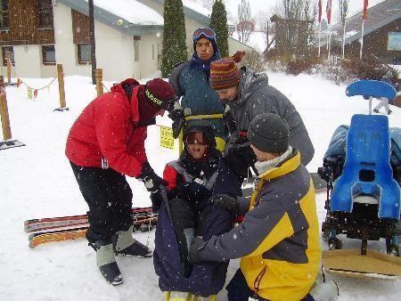 une journée au ski à Métabief
