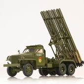 "SSM1378 Studebaker US6 U3 with rocket launcher BM-13 ""Katjusha"""