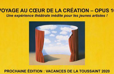 Voyage au Coeur de la Création - Opus 10