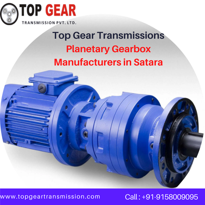 The Best Quality Planetary Gearbox Manufacturers in India