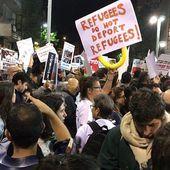Des milliers de personnes ont manifesté ce samedi à Tel Aviv contre l'expulsion des demandeurs d'asile africains