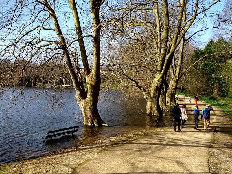 Encore un après-midi aux lacs de Biarritz  ( 5km  1h45 )
