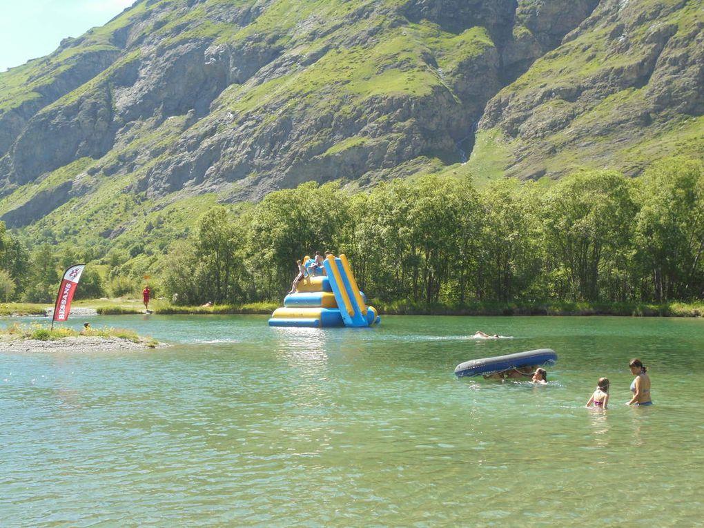 Bessans : la zone des lacs et l'aire de loisirs se développent