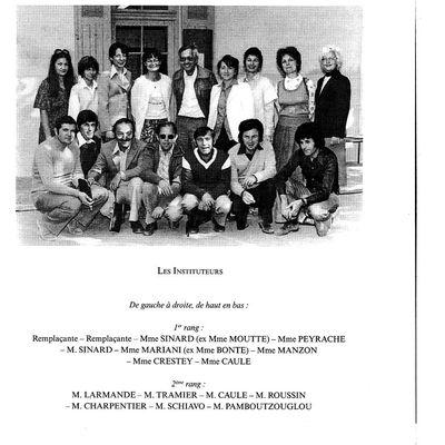 Les enseignants de notre enfance par Louis Gérent