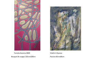 Rendez vous à l'exposition DUO avec Tomoko KAZAMA-OBER et Vladimir ULYANOV du  15 au 21 février 2021 à la Galerie de l'Angle , Paris