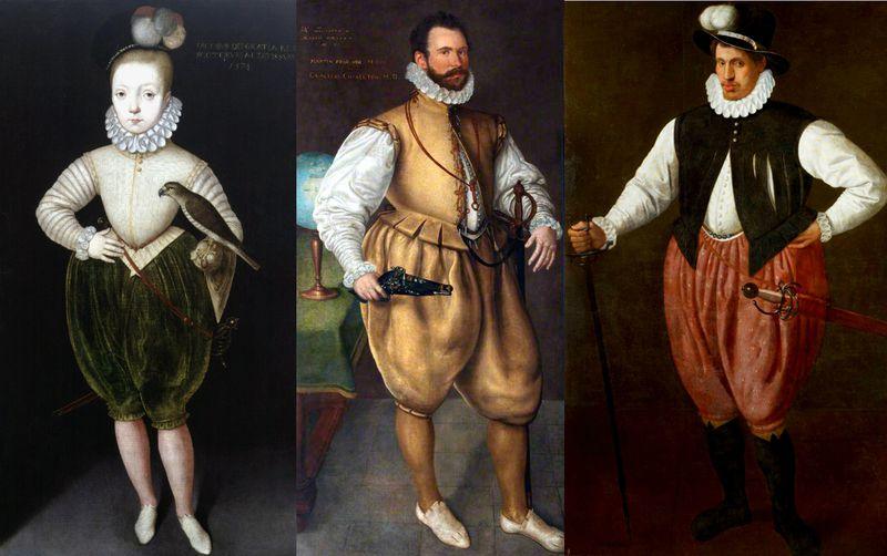 Le costume historique du XVIe siècle.