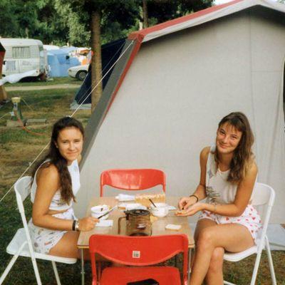 Les vacances au camping dans les années 70-80's