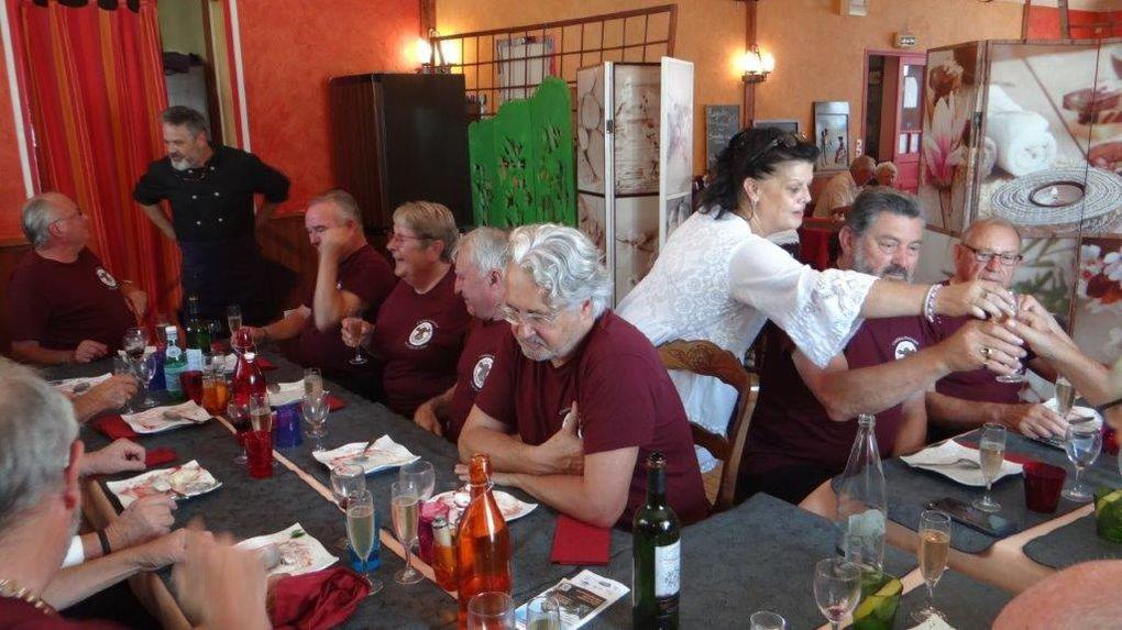 Quelques souvenirs de notre dernière Tête de Veau à l'Auberge Rétro.