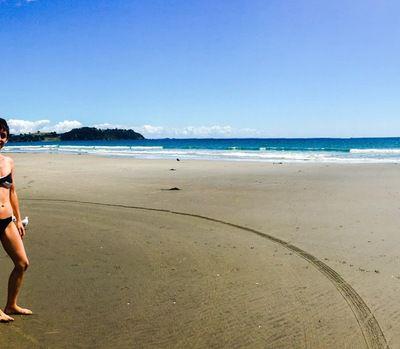 Waiheke Island and Muriwai beach (west coast)