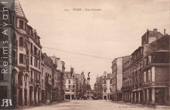 Rue Buirette, vers la Place d'Erlon