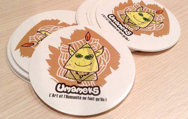 Les stickers Umameks