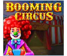 machine a sous Booming Circus logiciel Booming Games